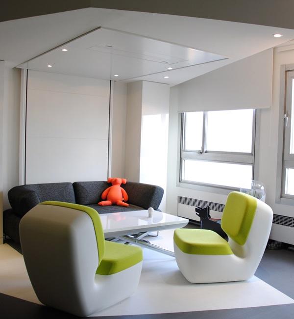 Salon Icebox avec fauteuils nimrod